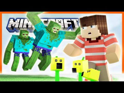 Plants vs Zombies 2 Mod Minecraft -