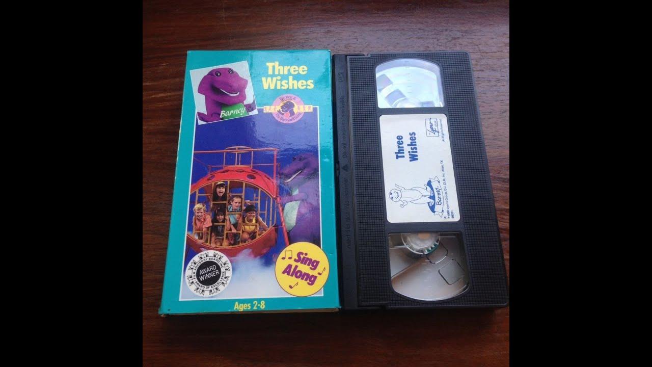 Opening To Barney The Backyard Gang Three Wishes VHS YouTube - Barney backyard gang concert vhs