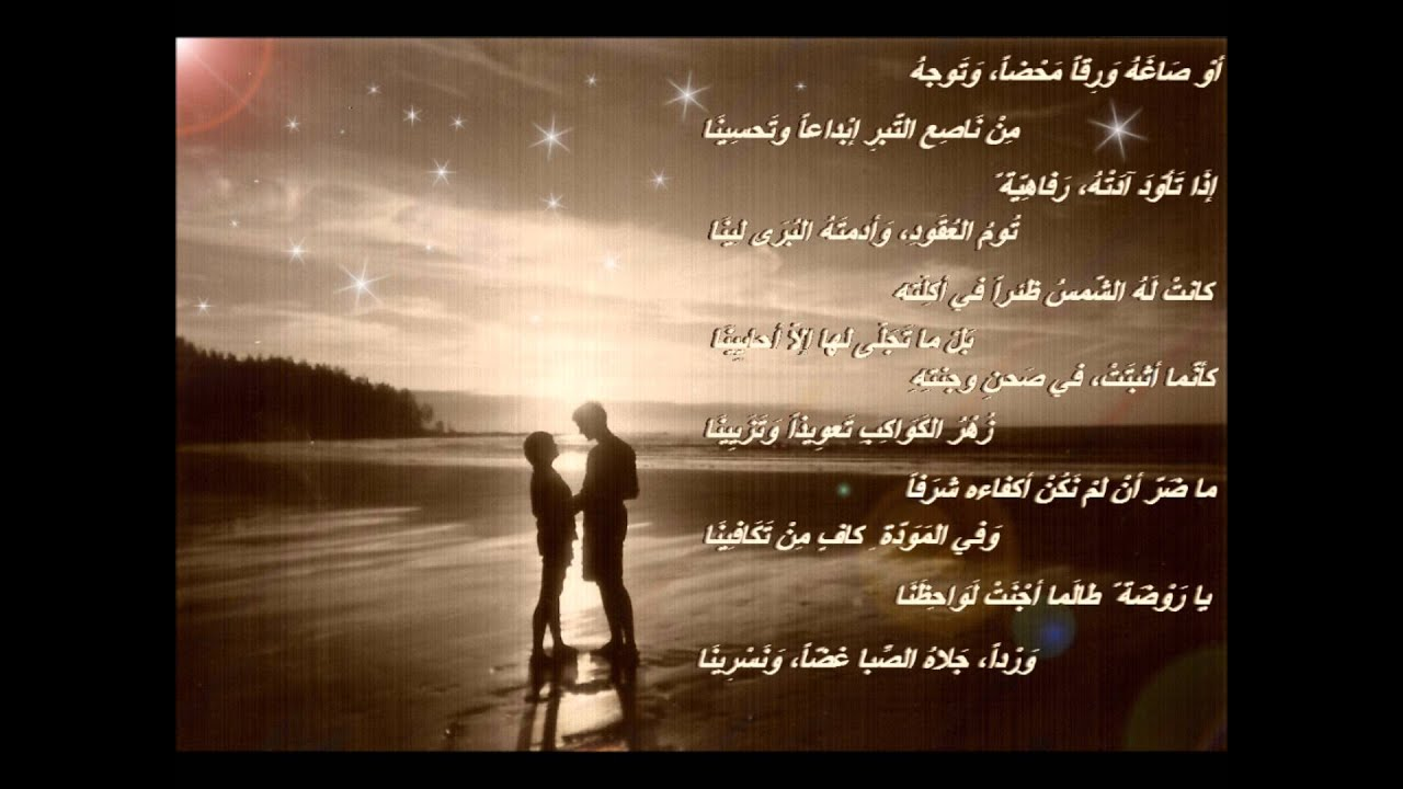 قصيدة ابن زيدون الشهيرة (( النونية ))