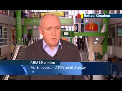 UK supermarket chain Asda offers 3D printing experience: trials taking place at Asda store in York