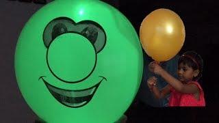 Awesome Balloon Tricks for Kids   Amazing Balloon Hacks   Glow in Dark Balloons