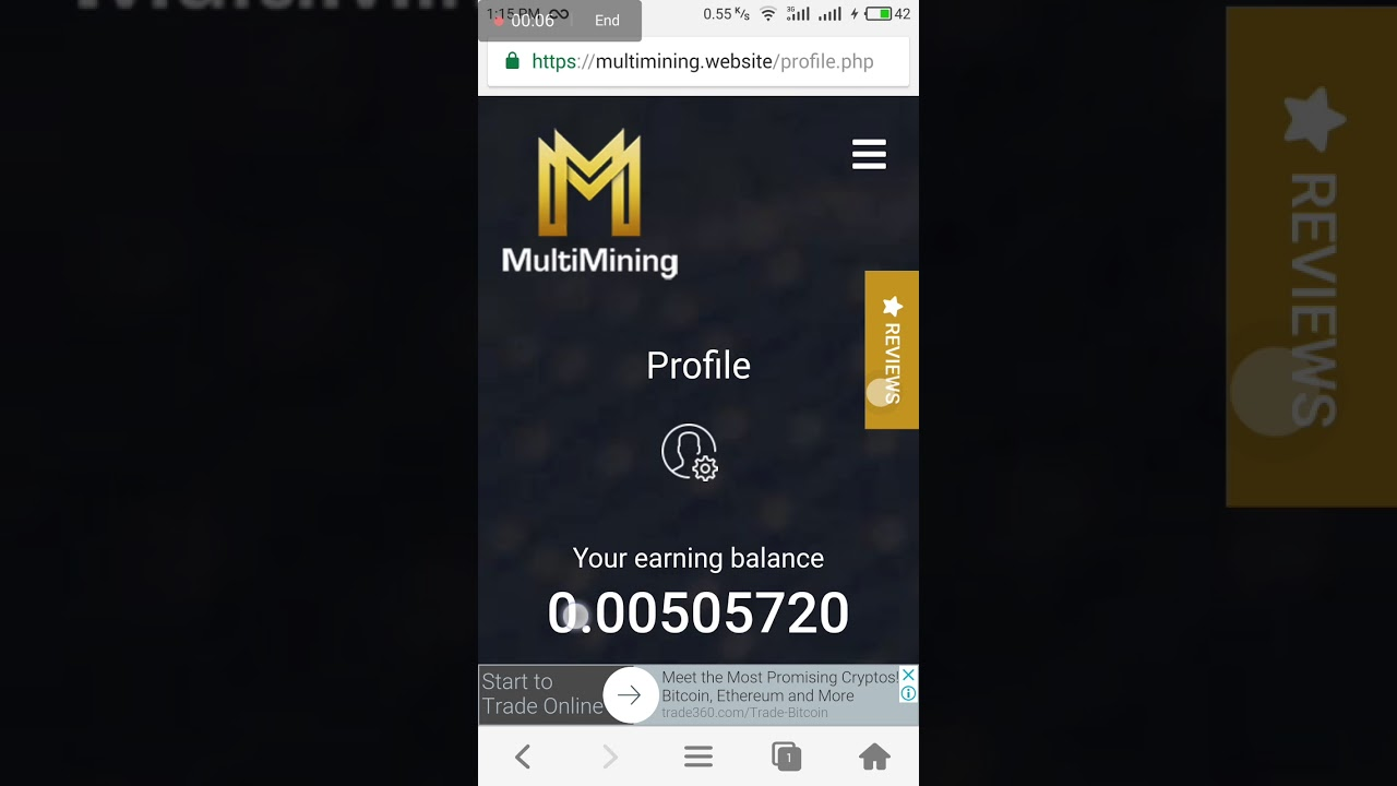 Multimining Website Withdrawl Proof is Fully Scam