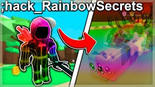 RAINBOW HACKER JOINS MY GAME AND TAKES MY SECRET PETS! | Roblox Bubble Gum Simulator!