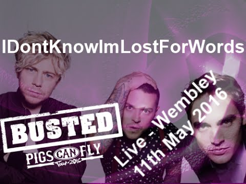 Busted Pigs Can Fly Live - Wembley Arena Highlights: 11th May 2016