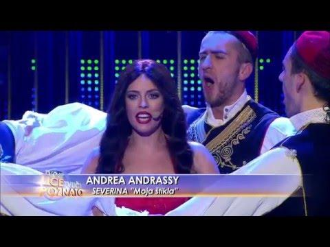 Andrea Andrassy kao Severina: Moja štikla