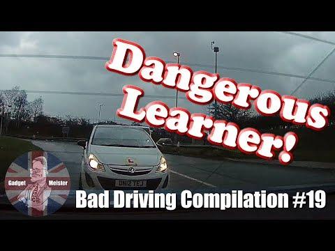 Bad Drivers UK Dash Cam Compilation #19
