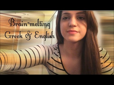 ASMR Brain-melting Greek & English for your Ears +Inaudible/Unintelligible sounds+
