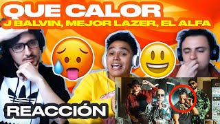 [Reaccion] Major Lazer - Que Calor (feat. J Balvin & El Alfa) - ANYMAL LIVE
