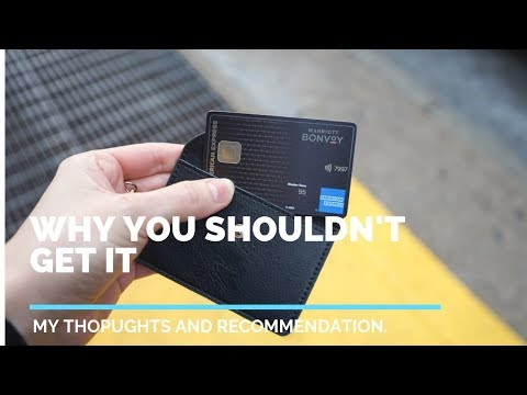 Is The Marriott Bonvoy Credit Card(s) Worth It?