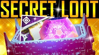 Destiny 2 - RAID LAIR LOOT! SECRET CHEST!