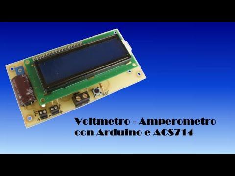 Schema Elettrico Voltmetro Per Auto : Scheda voltmetro amperometro con arduino