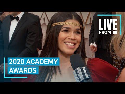 America Ferrera Honors Honduran Heritage at 2020 Oscars  E Red Carpet & Award Shows