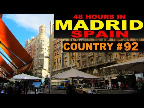 A Tourist's Guide to Madrid, Spain