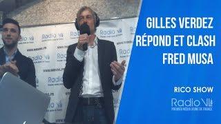 Gilles Verdez répond et clash Fred Musa :