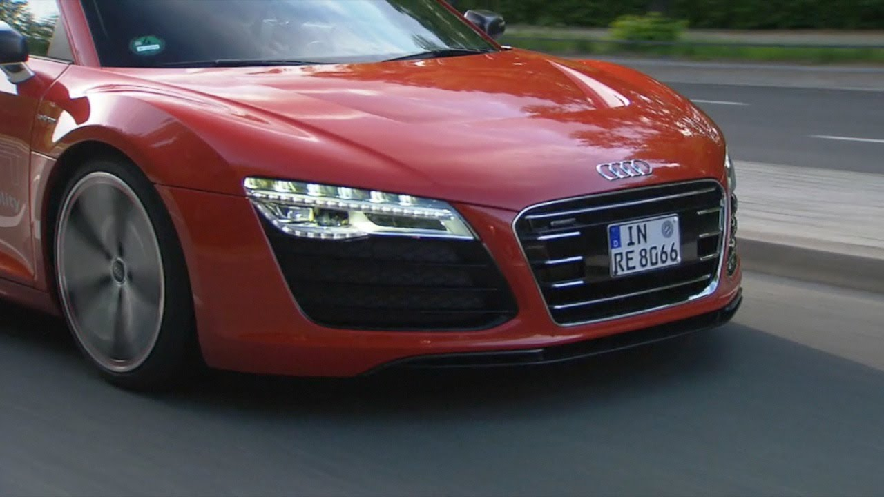 NEW Audi R Etron On The Road YouTube - Audi r8 etron