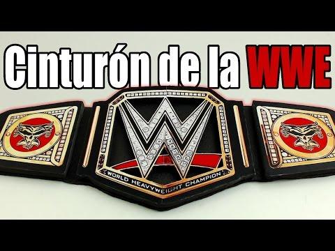 Cinturón de la WWE, cómo se hace | Te Digo Cómo