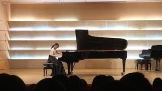 선화예고 1학년 향상연주회 Liszt Paganini Etude No.6
