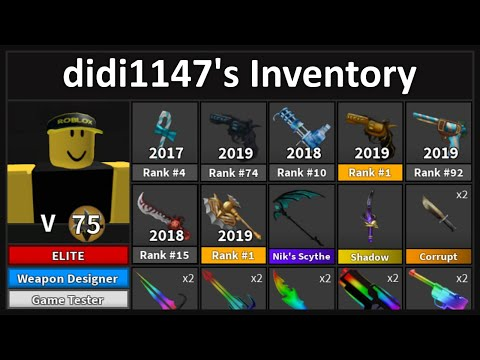 How to Get a Pro Murder Mystery 2 Inventory