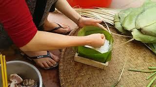 バインチュン  ベトナムのお正月料理
