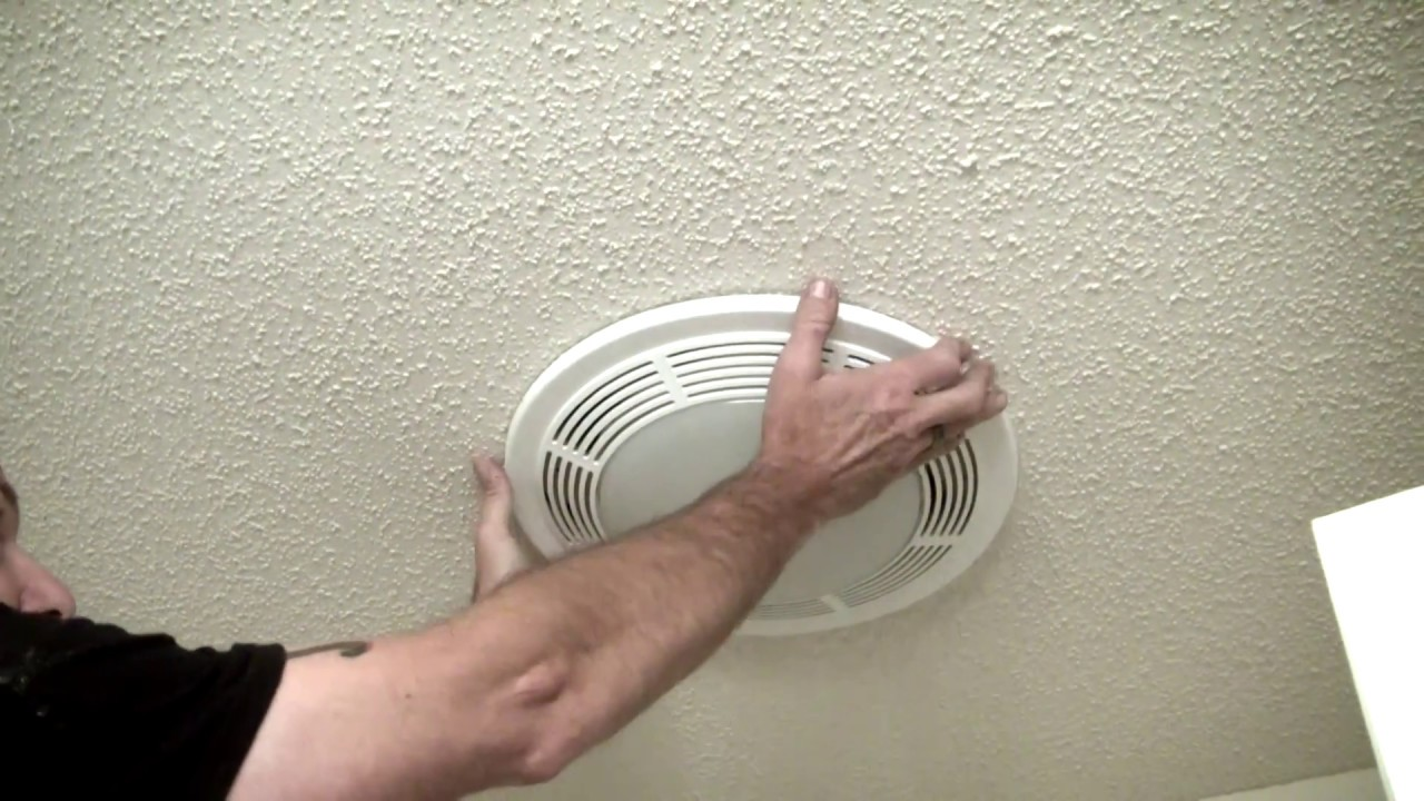 How To Replace Light Bulb In Bathroom Exhaust Fan Shelly