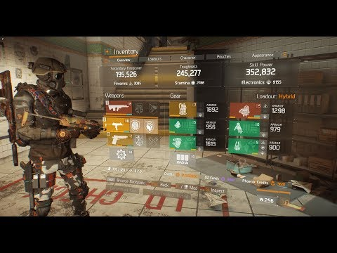 The Division - Hybrid Build 1.7 | Skill-Power | Flame Turret | Sustain | Full Gameplay