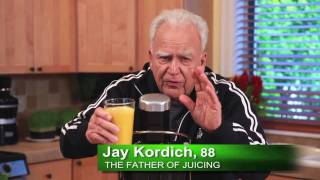 Jay Kordich makes Real Orange Juice