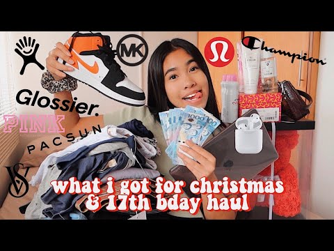 WHAT I GOT FOR CHRISTMAS 2019 & 17TH BDAY HAUL!