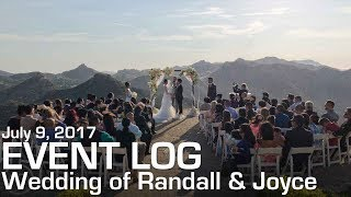 Event Log #60 - DJ MOJOE Wedding at Malibu Rocky Oaks Estate Vineyards