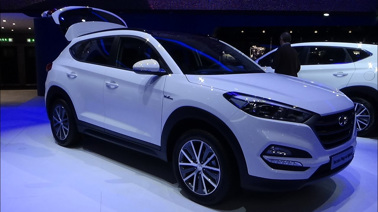 2016 hyundai tucson plug in hybrid geneva motor show 2015 youtube. Black Bedroom Furniture Sets. Home Design Ideas