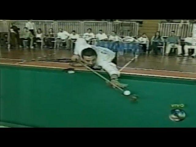 Noel Atleta da sinuca no Desafio do Esporte Espetacular AO VIVO 2002