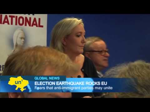 Nationalist parties triumph in EU elections: Right-wing gains described as 'political earthquake'