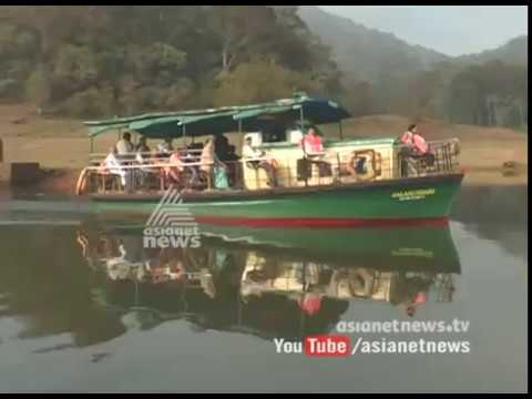 Hydrographics department started to measure depth of Thekkady Lake