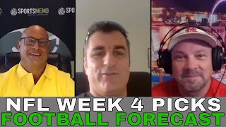 NFL Week 4 Picks and Predictions | 2021 NFL Week 4 Betting Preview | Sportsmemo Football Forecast