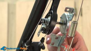 How to Replace the Throttle Lever Spring on a Honda HRX217 Lawn Mower (Part 17858-VA4-000)