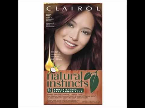 Clairol Natural Instincts Semi Permanent Hair Color 4rv Burgundy Brown 1 Ea