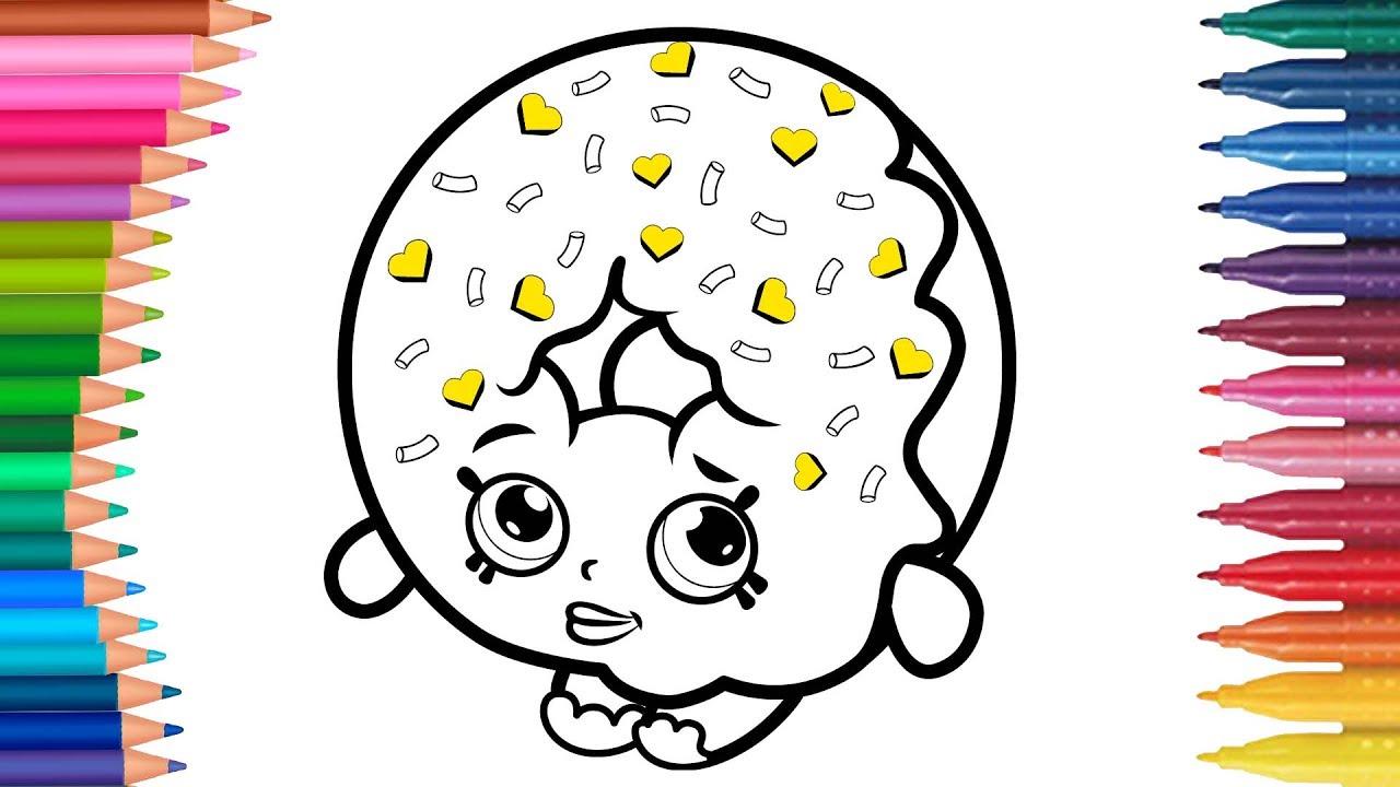 Lps Miniş çizgi Film Karakteri Boyama Sayfası Minik Eller Boyama