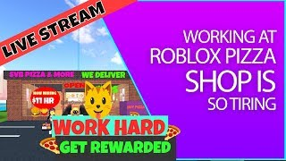 Roblox work at a pizza hut ( looking to fire bad workers) Live stream