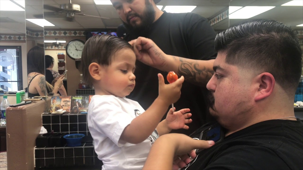 Aidens First Haircut At 1 Year Old Disaster Youtube