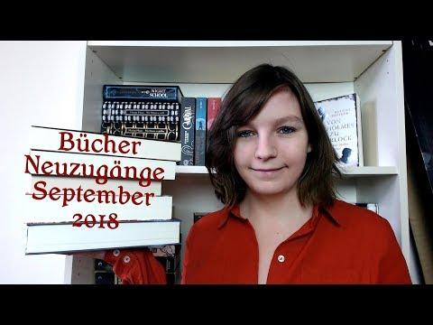 Bücher Neuzugänge September 2018