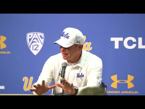 UCLA Football Postgame - Jim Mora -9/3/17