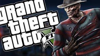 FREDDY KRUEGER MOD: INCRÍVEL - GTA V PC MOD