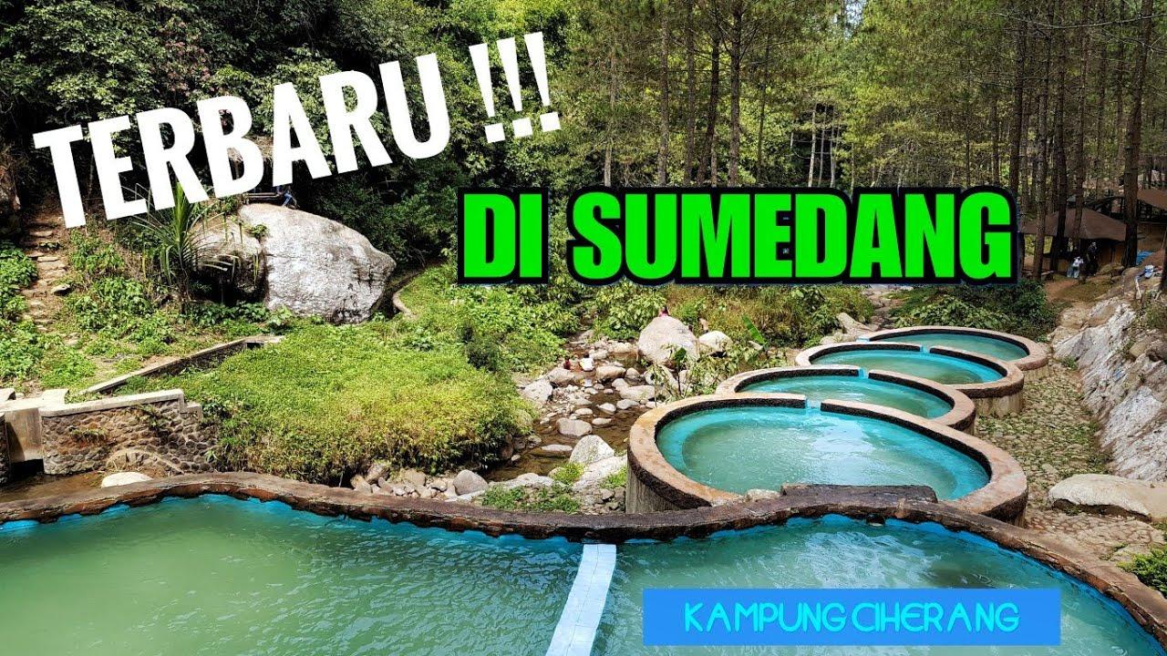 WISATA SUMEDANG terbaru, Wana Wisata Kampung Ciherang, mantap!!