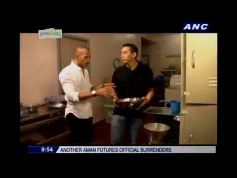 ANC Green Living: Good Burgers, Theo Philo chocolates, Binalot