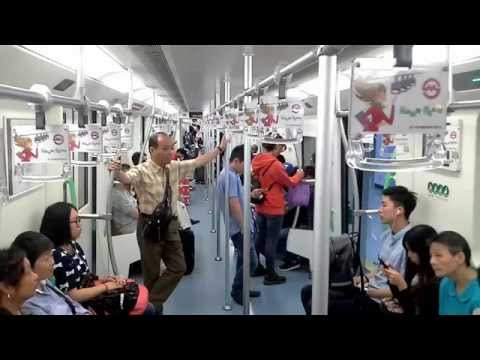 Chinese Underground Metro Train System On The Rise