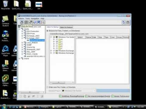 Overview of EMC Avamar Backup and Recovery Options - YouTube