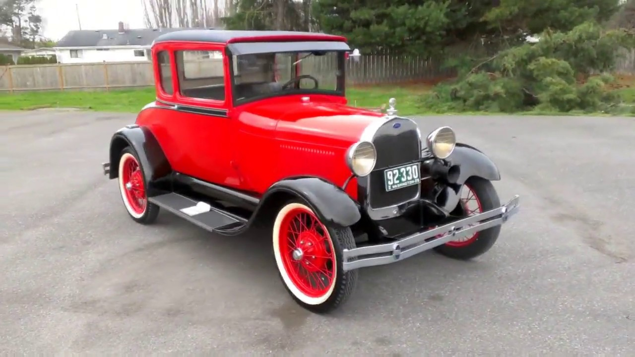 Model T Car With Rumble Seat