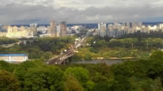 Панорама Киева ,с высоты ,очень красиво...