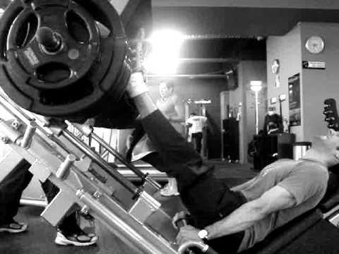 260kg Leg Press X 20