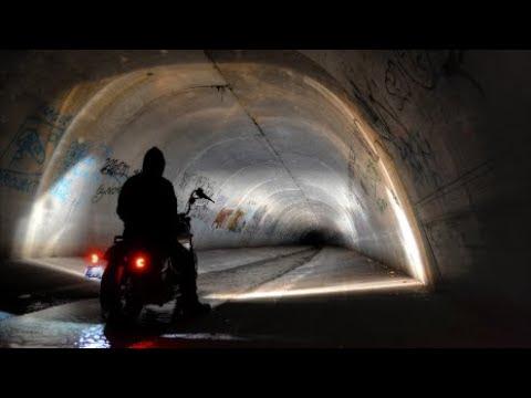 AUSTRALIAN HARLEY DAVIDSON RIDERS: Urban Drain Exploring POV GOPRO!