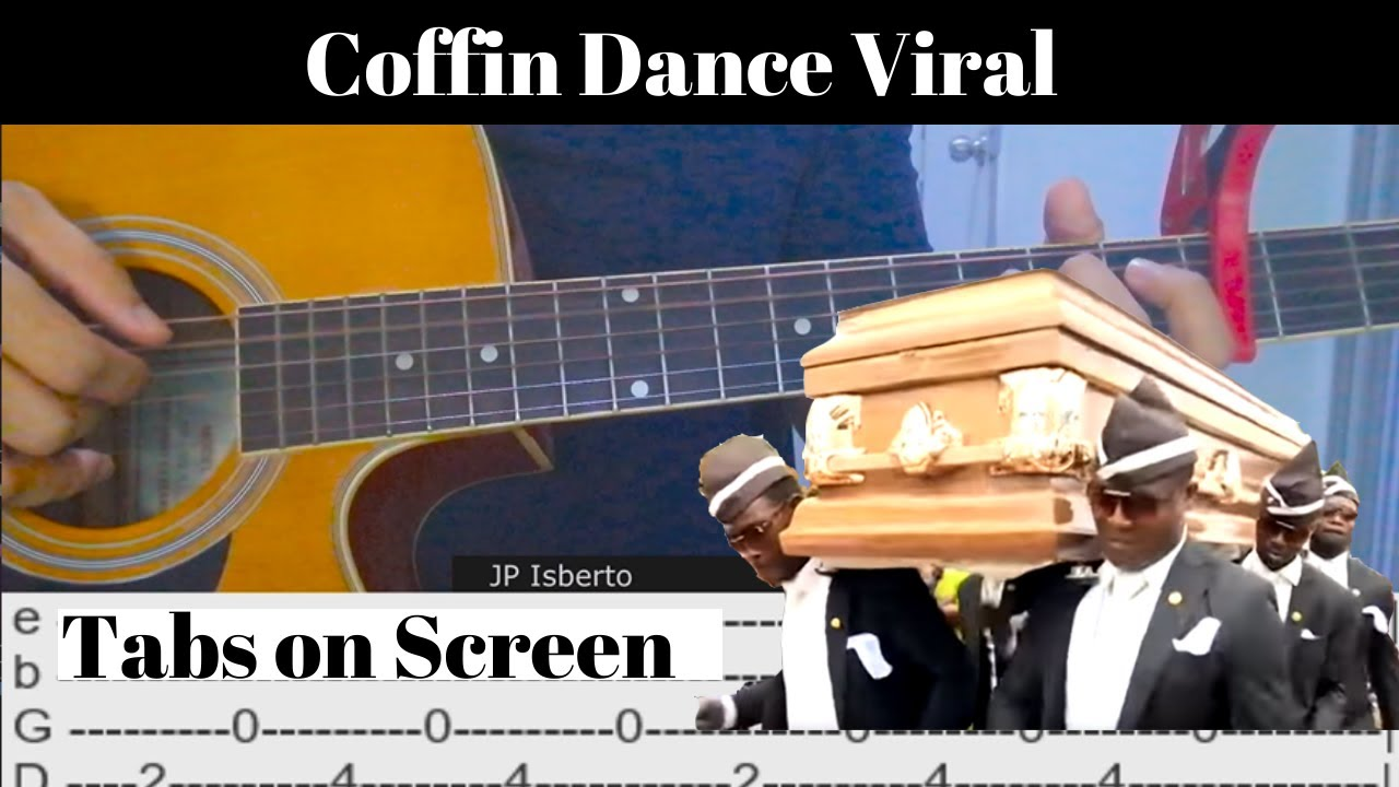 Coffin Dance Viral | Astronomia | Fingerstyle Guitar Cover | Free TABS chords | Guitaa.com